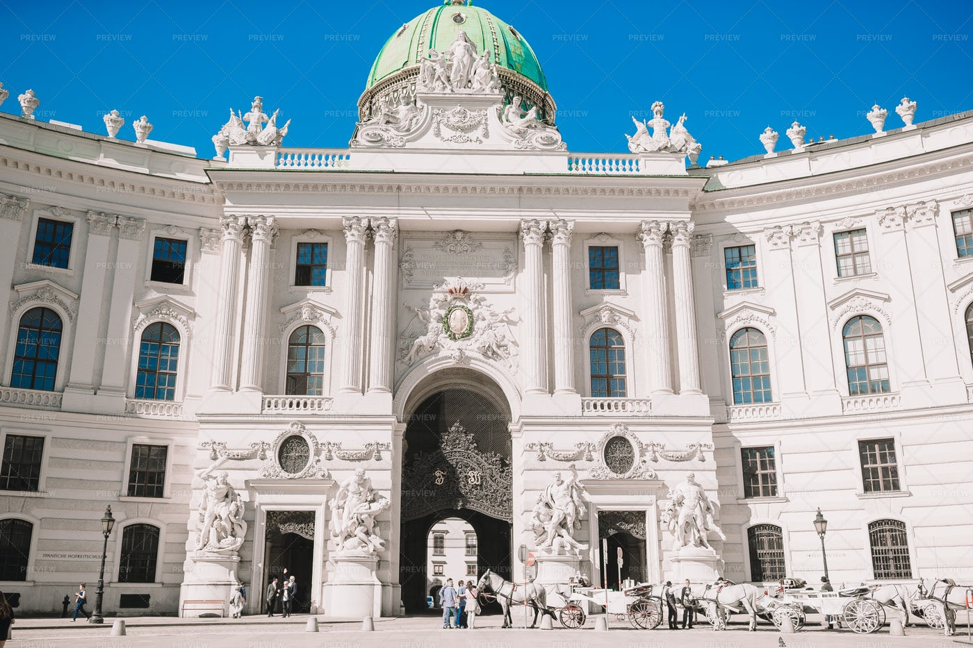 Hofburg Imperial Palace: Stock Photos