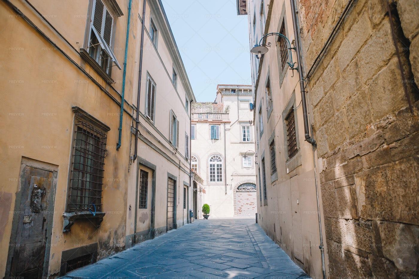 Narrow Streets Of Europe: Stock Photos