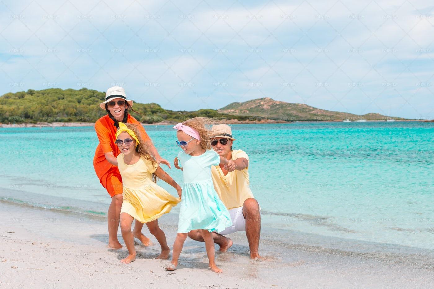 Running Away From Parents: Stock Photos