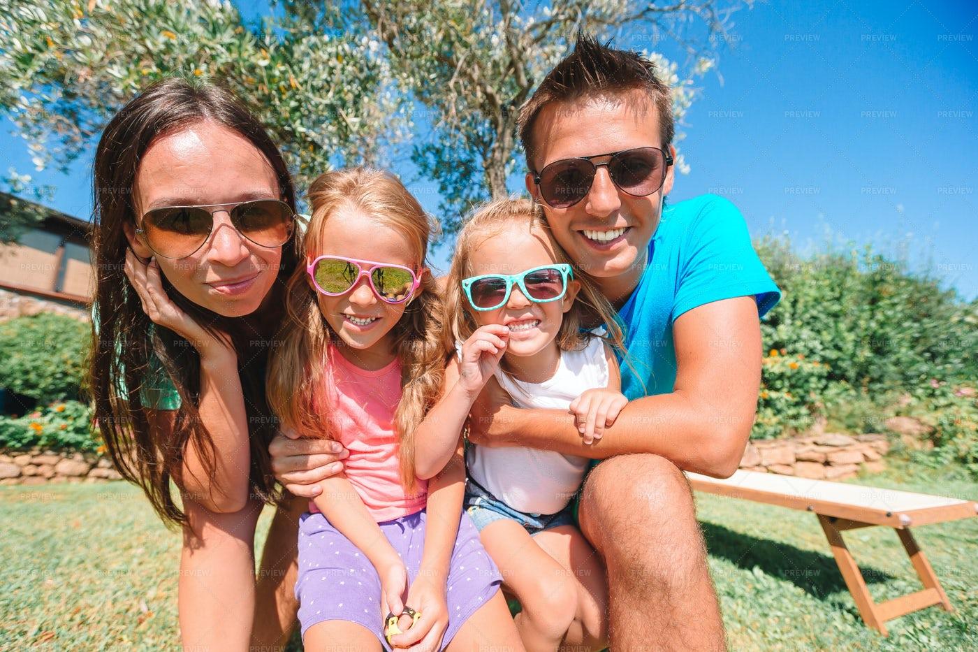 Family Summer Holiday: Stock Photos