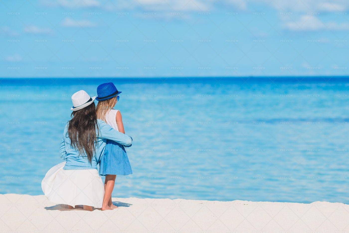 Enjoying Caribbean Views: Stock Photos