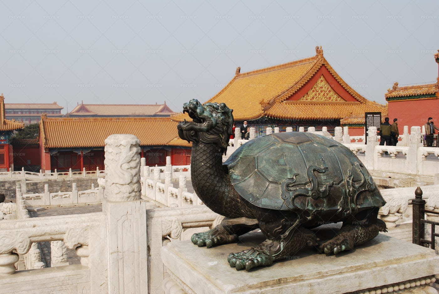 The Tortoise Statue: Stock Photos