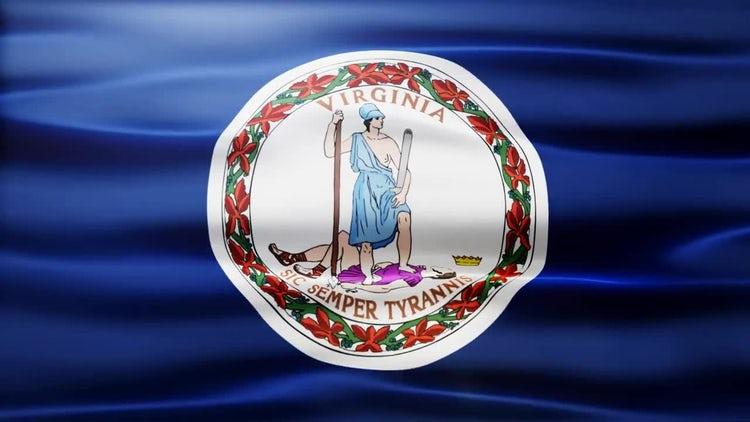 Virginia Flag: Motion Graphics