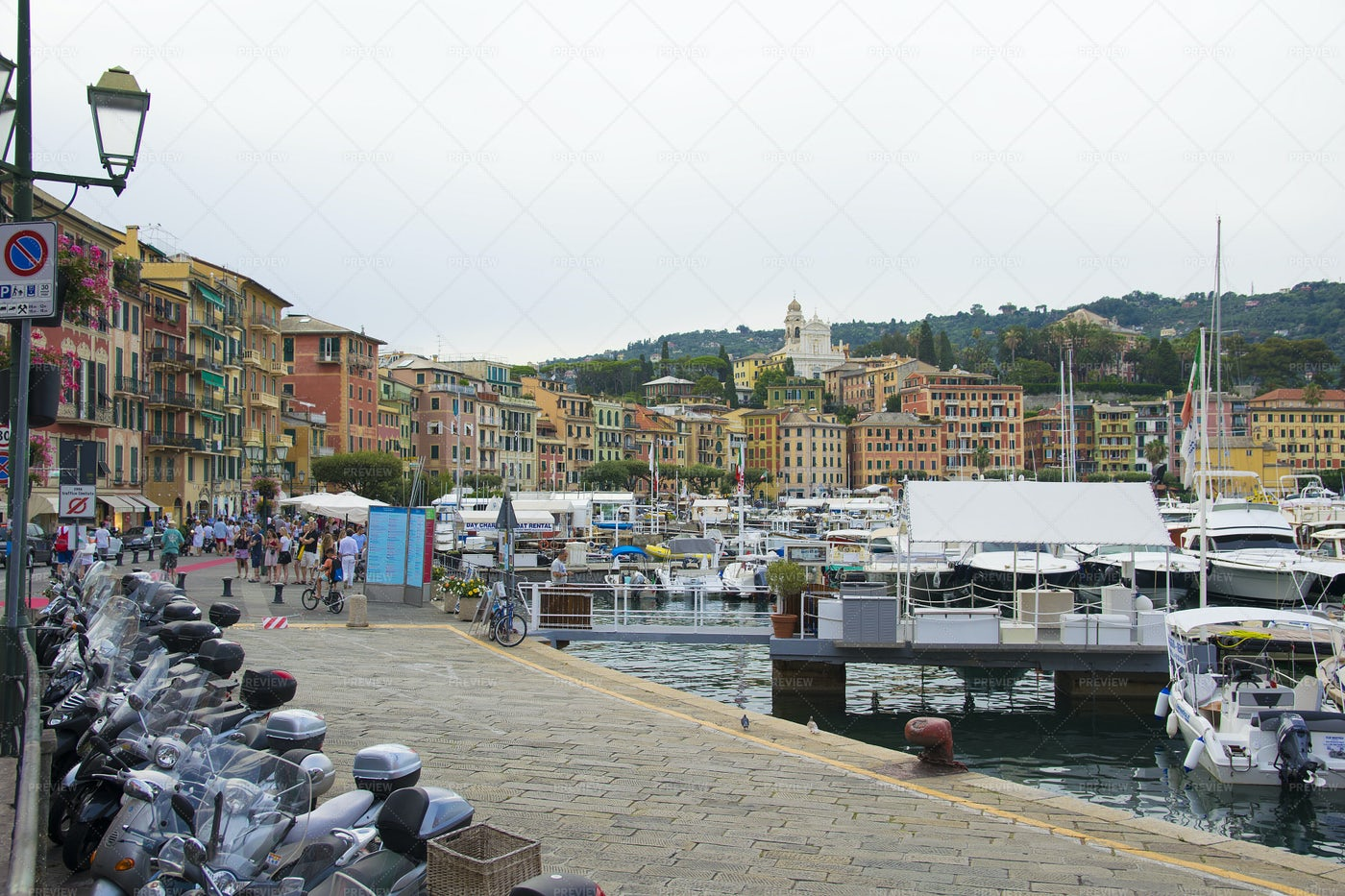Village Of Portofino: Stock Photos