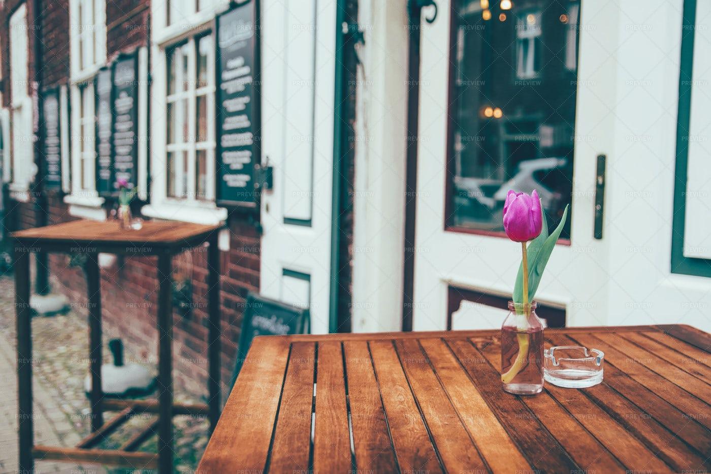 Flower On The Table: Stock Photos