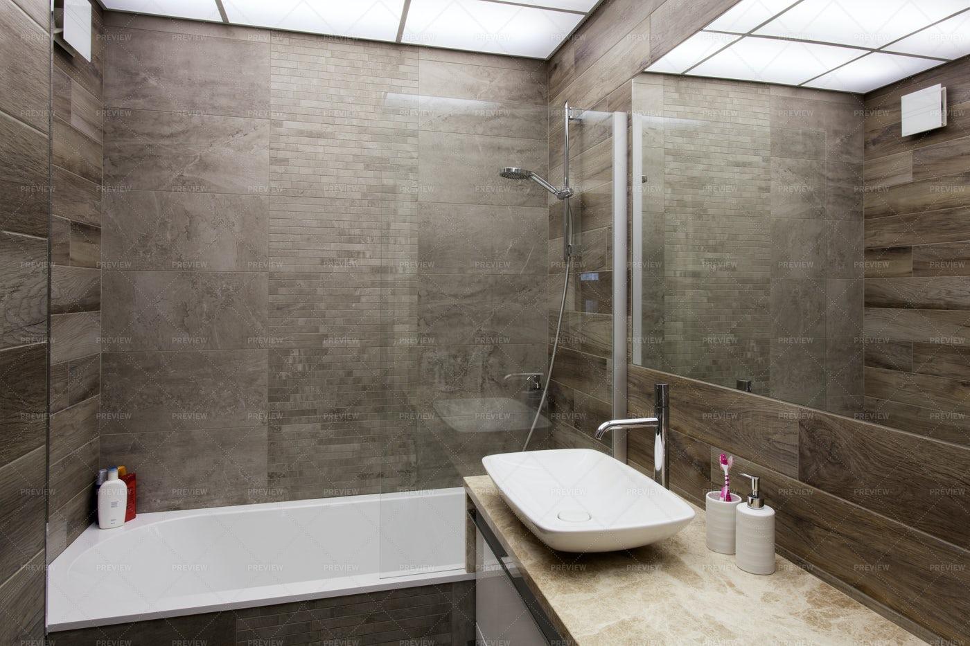 Interior Of A Bathroom: Stock Photos