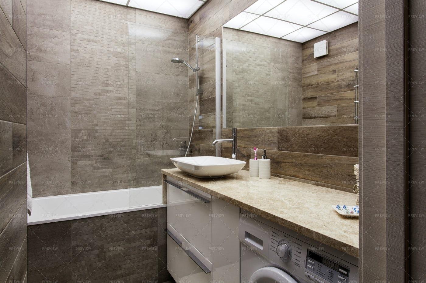 Interior Of A Modern Bathroom: Stock Photos