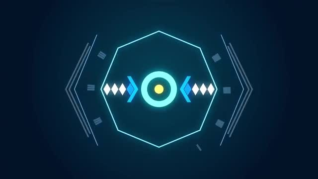 Sci-Fi HUD Logo Reveal: After Effects Templates