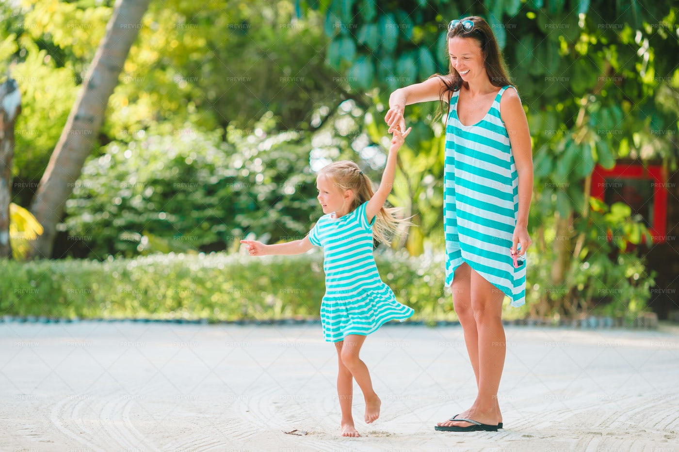 Dancing With Mom: Stock Photos