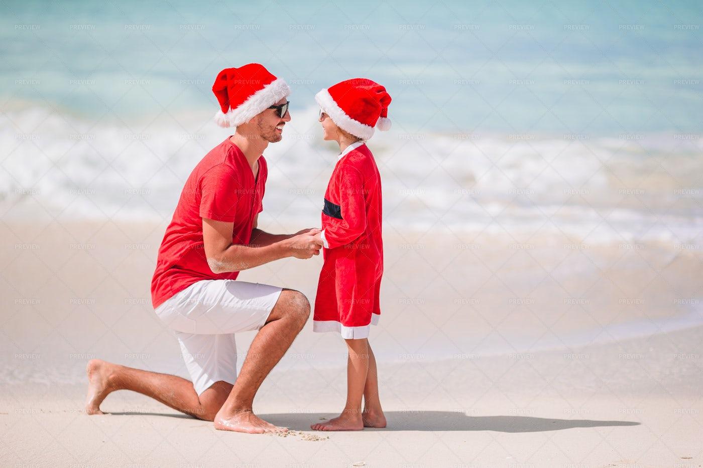 Summer Christmas: Stock Photos