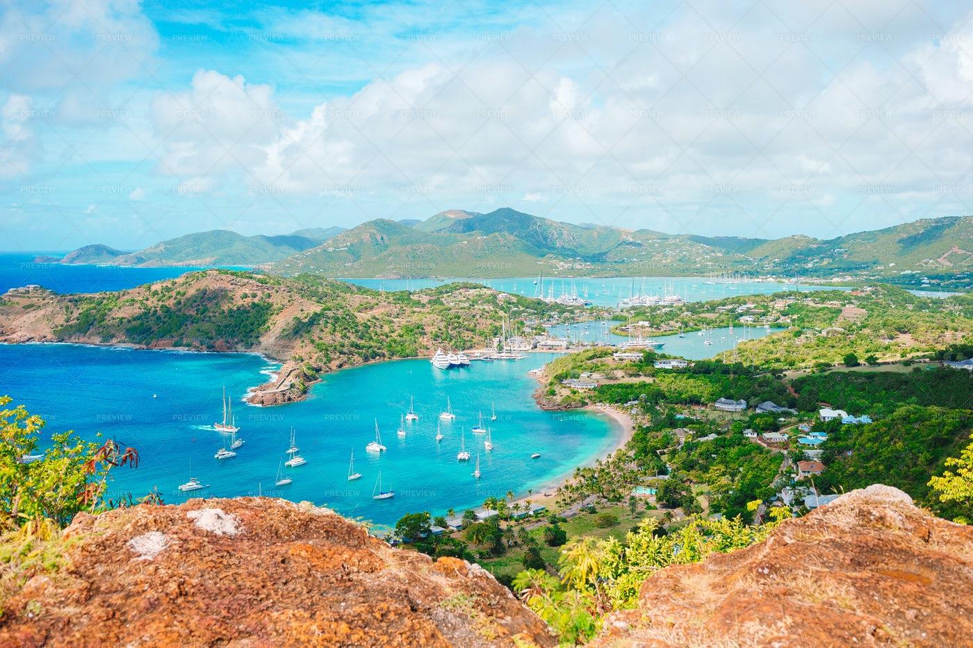 English Harbour And Antigua: Stock Photos