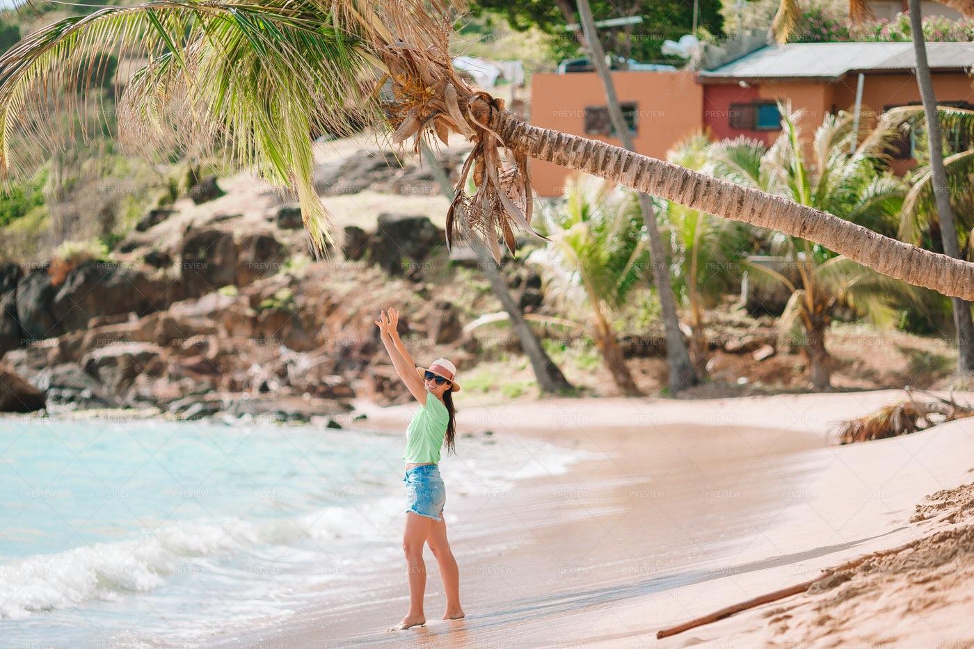 Enjoying The Exotic Coast: Stock Photos