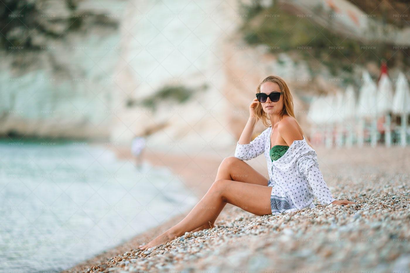 Beach Relaxation: Stock Photos