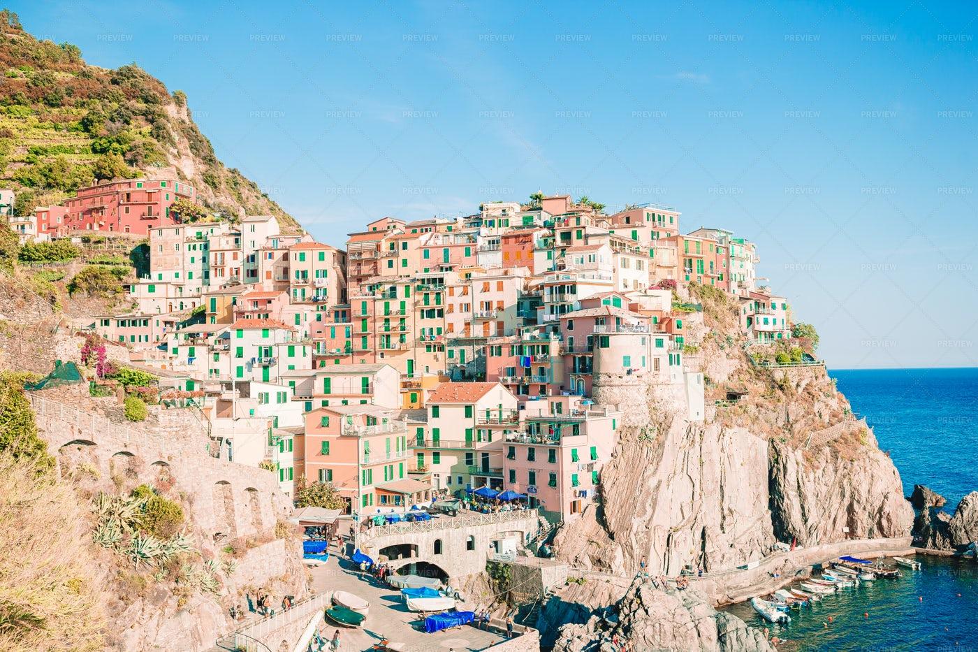 View Of Cinque Terre: Stock Photos
