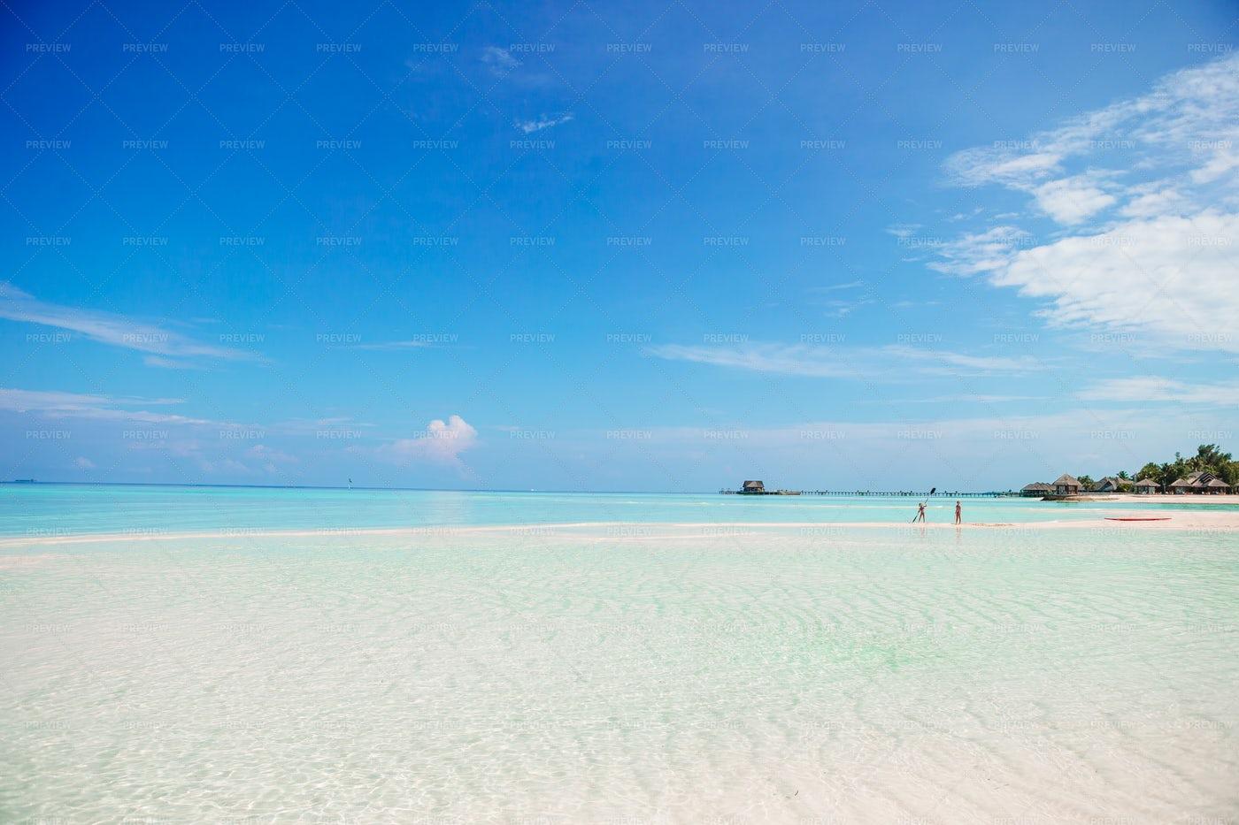 White Sand Beach: Stock Photos