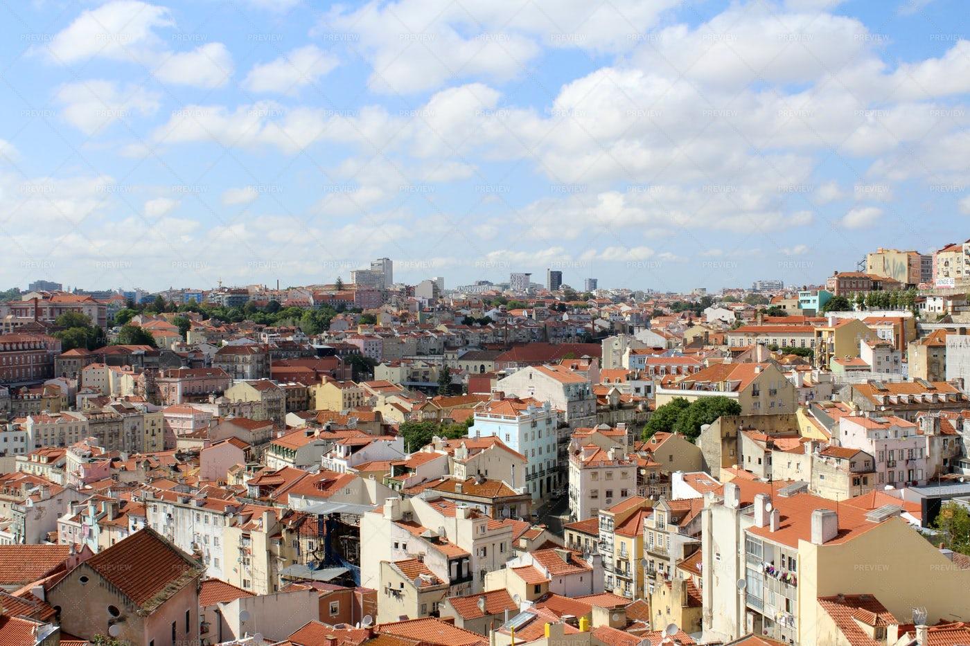 Lisbon Cityscape: Stock Photos