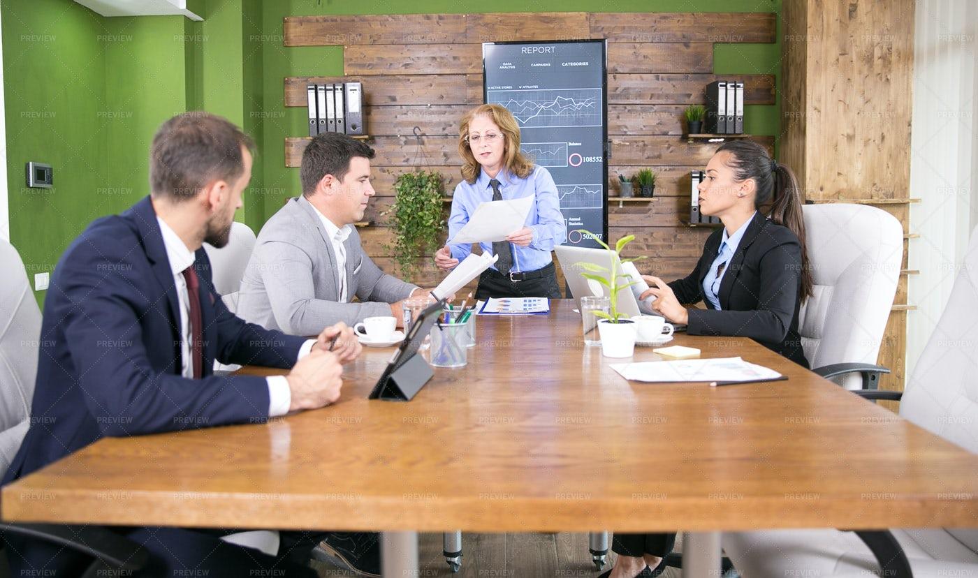 Group Holding Meeting: Stock Photos