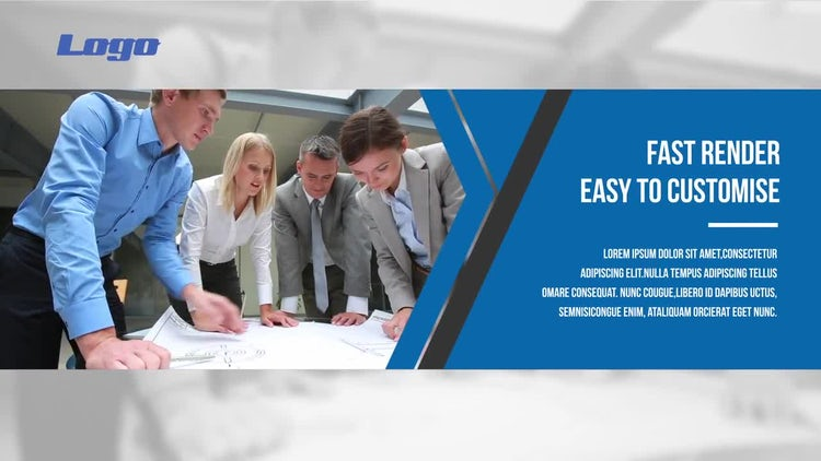 Modern Corporate Slideshow: After Effects Templates