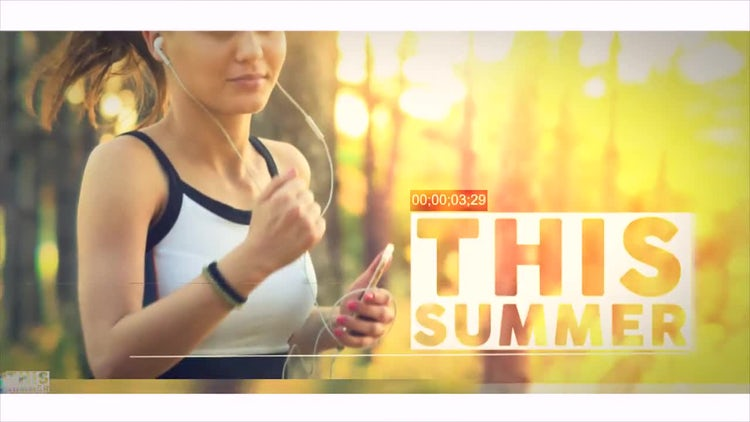 Summer Show Opener: After Effects Templates