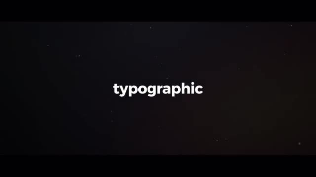 Stomp Typography: After Effects Templates