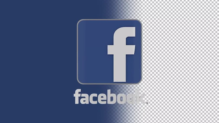 Facebook Logo: Stock Motion Graphics