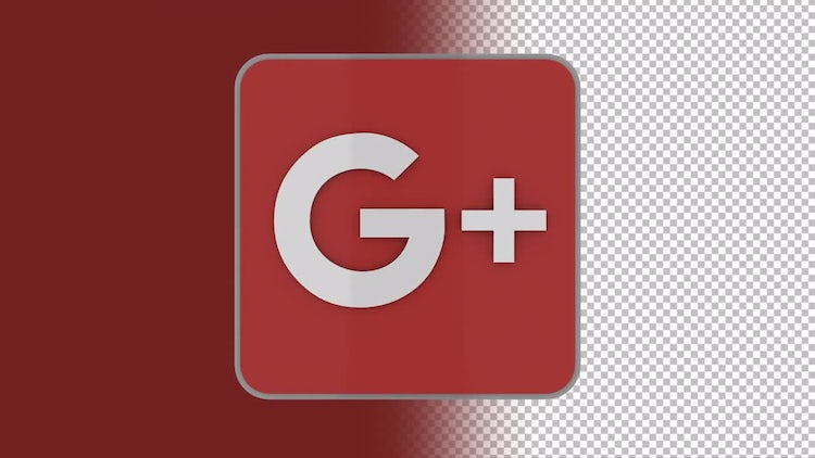 Google Plus Logo: Stock Motion Graphics
