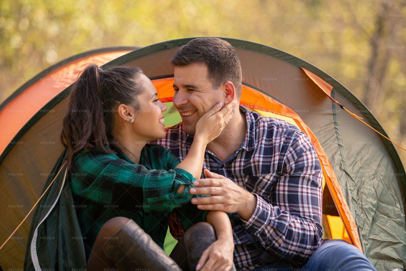 Camping Love: Stock Photos