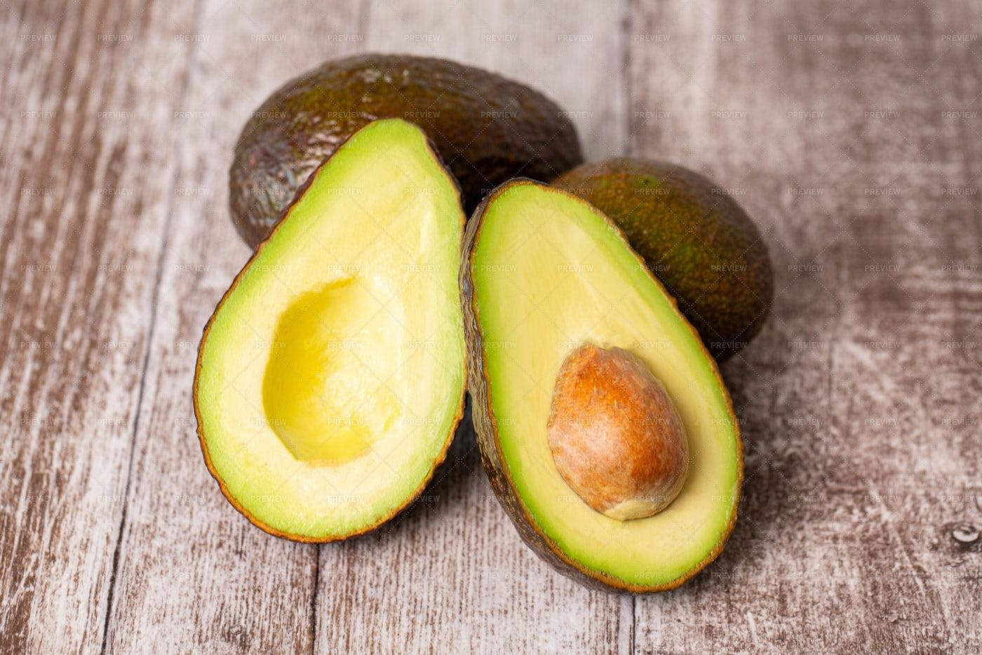 Avocado Composition: Stock Photos