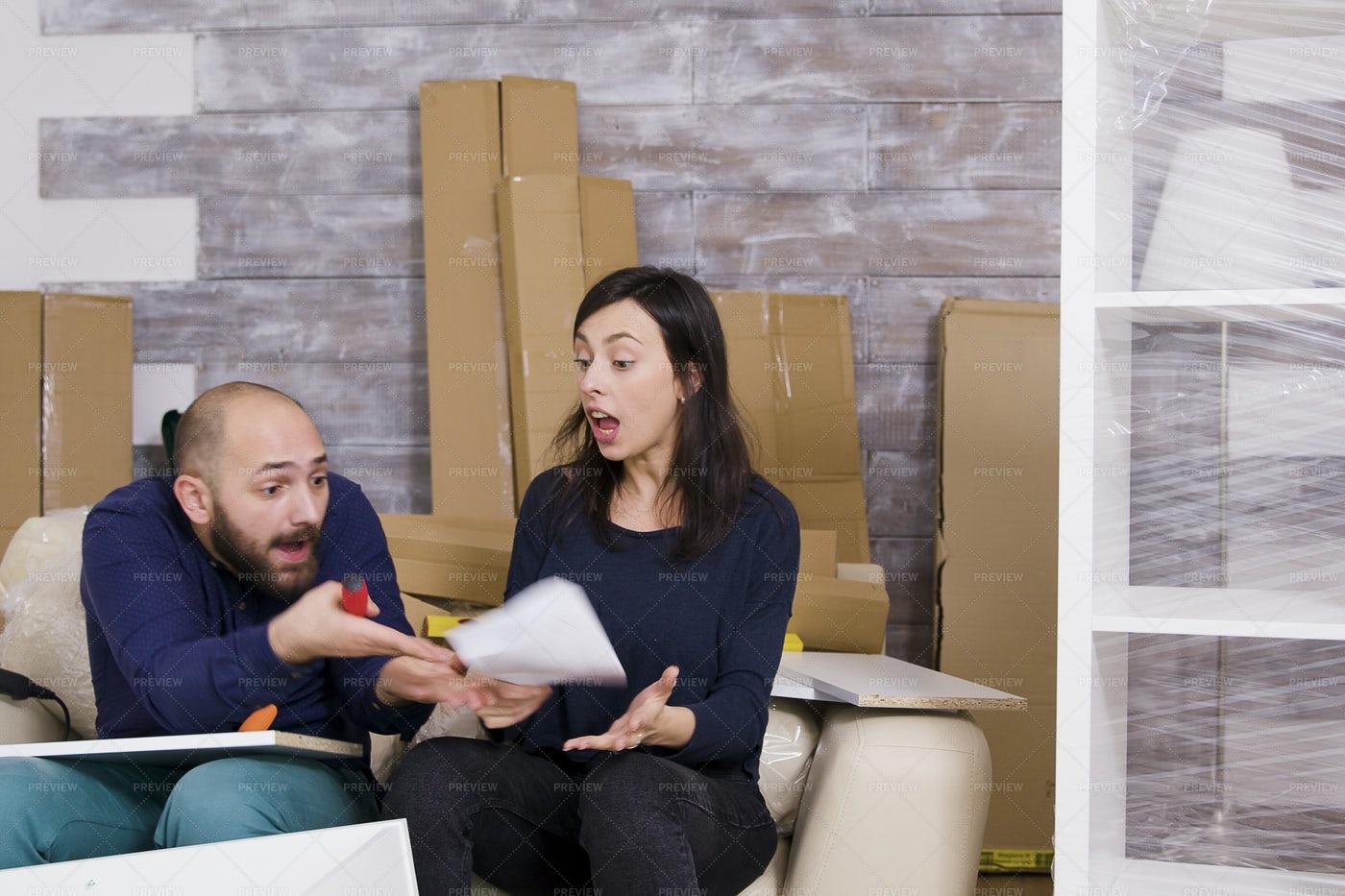 Arguing Couple: Stock Photos