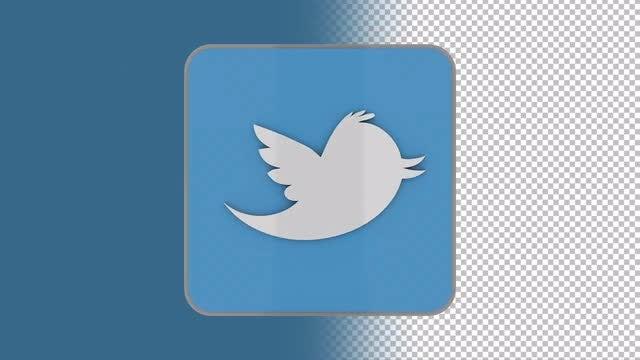 Twitter Logo: Stock Motion Graphics