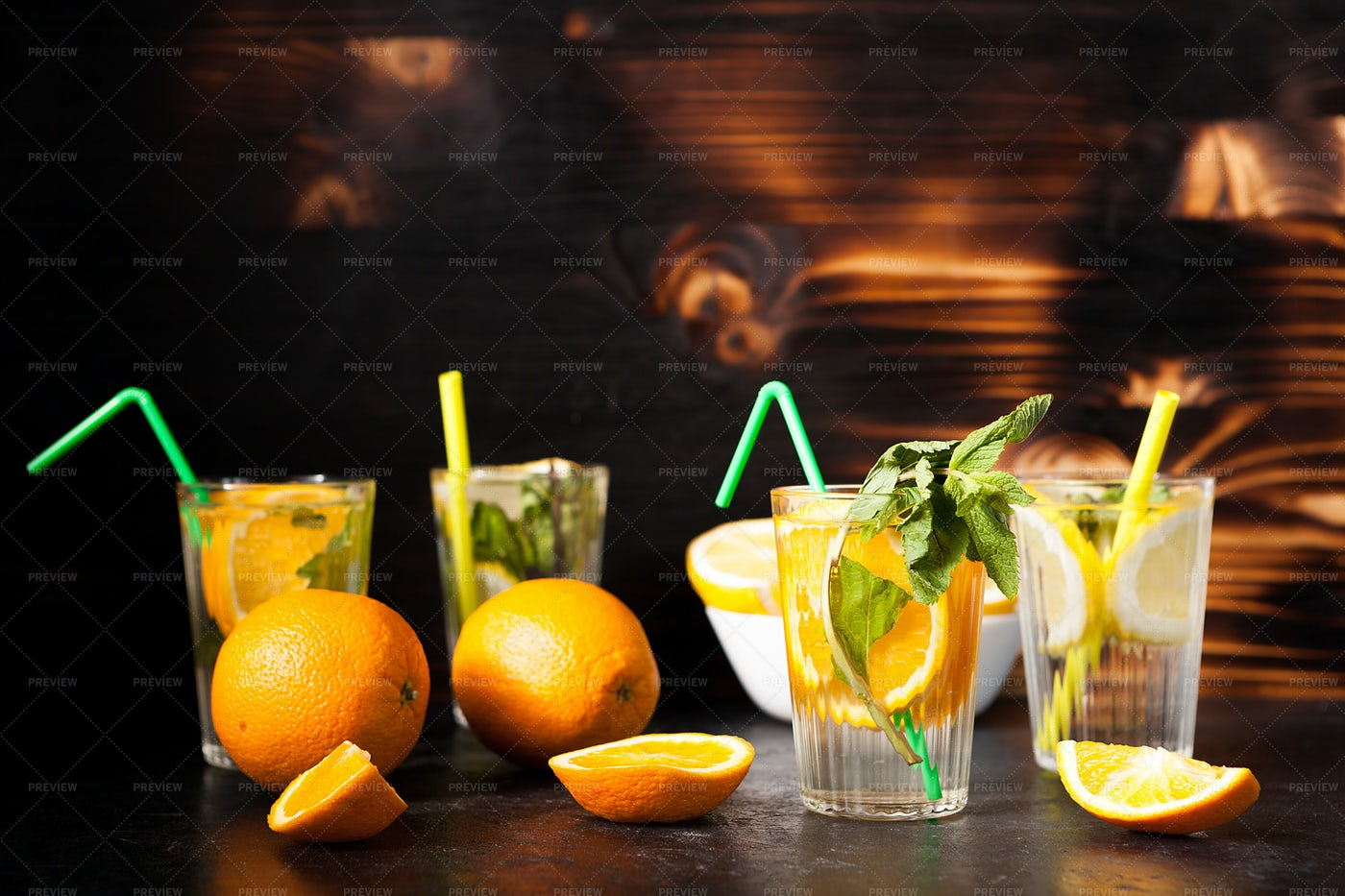 Citrus Water: Stock Photos