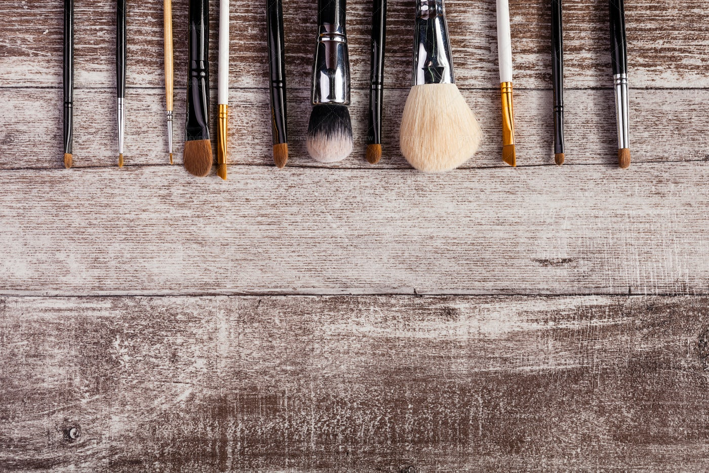 Make Up Brushes: Stock Photos