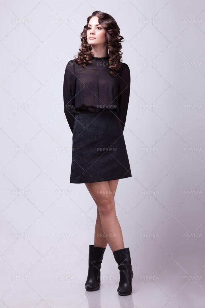 Sensual Expressive Woman: Stock Photos