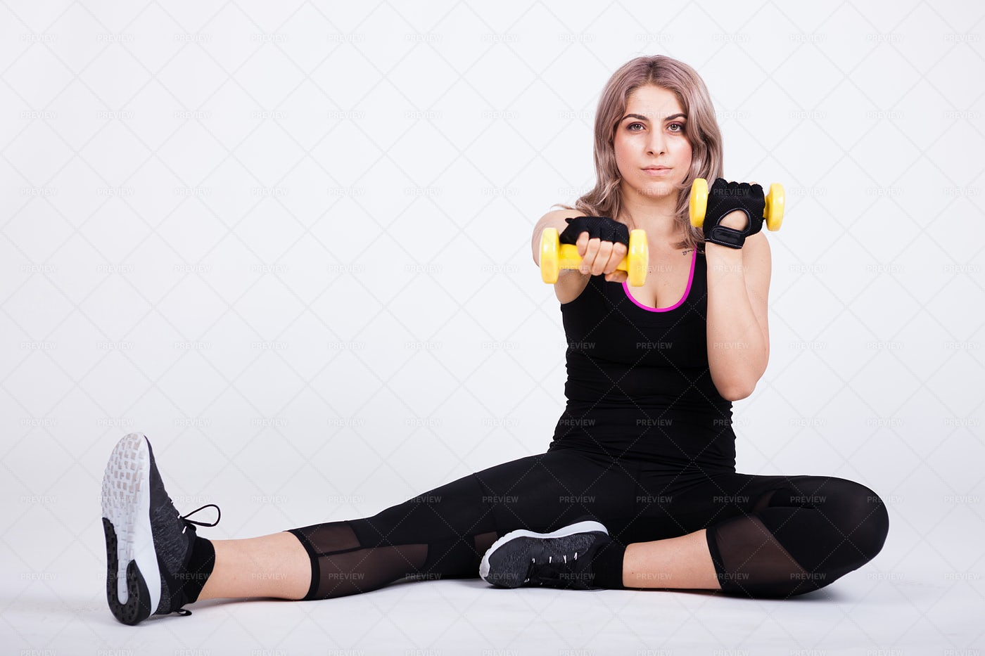 Fit Person Exercising: Stock Photos