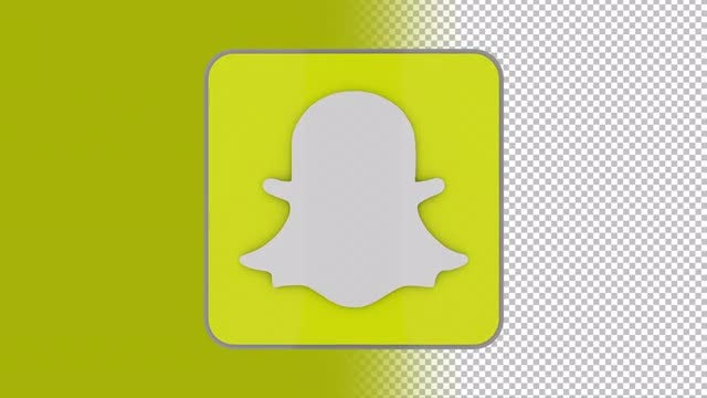 Snapchat Logo: Stock Motion Graphics
