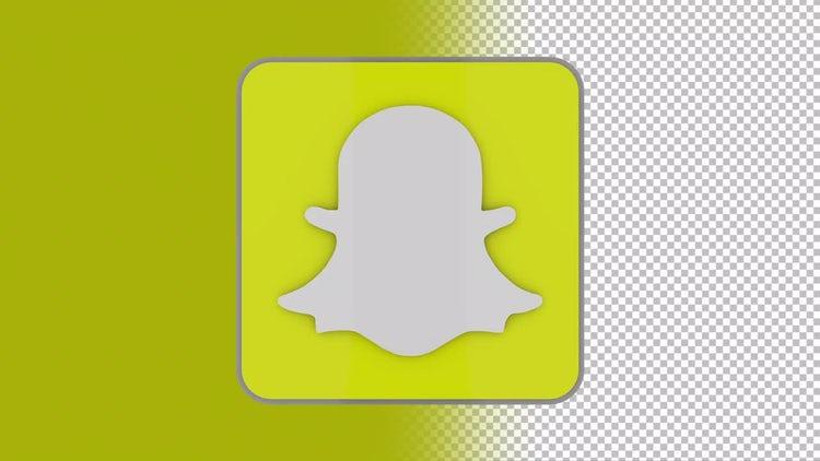 Snapchat Logo: Stock Motion Graphics