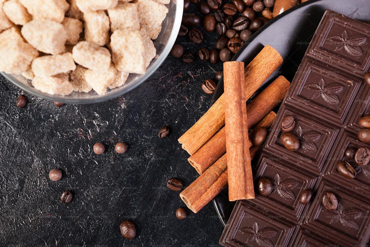 Ingredients For Dessert: Stock Photos