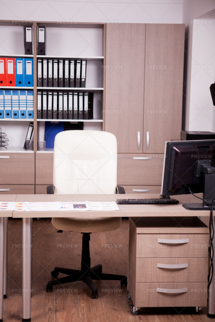 Modern Empty Office: Stock Photos