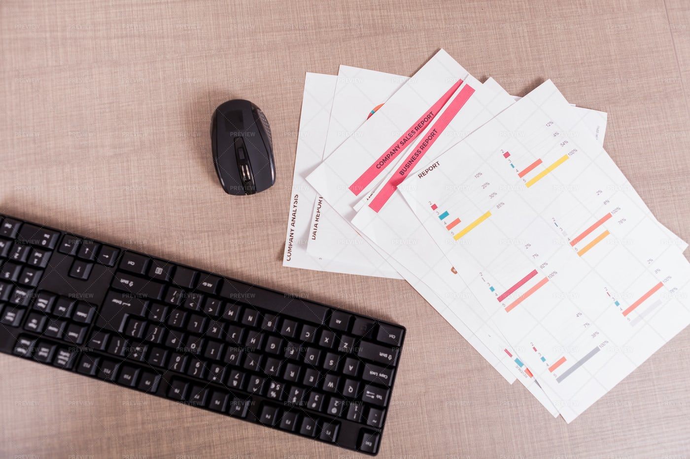 Business Reports: Stock Photos