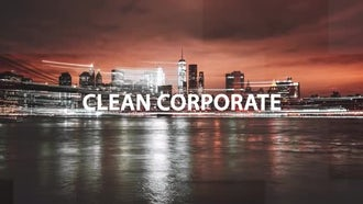 Clean Corporate Slideshow: After Effects Templates