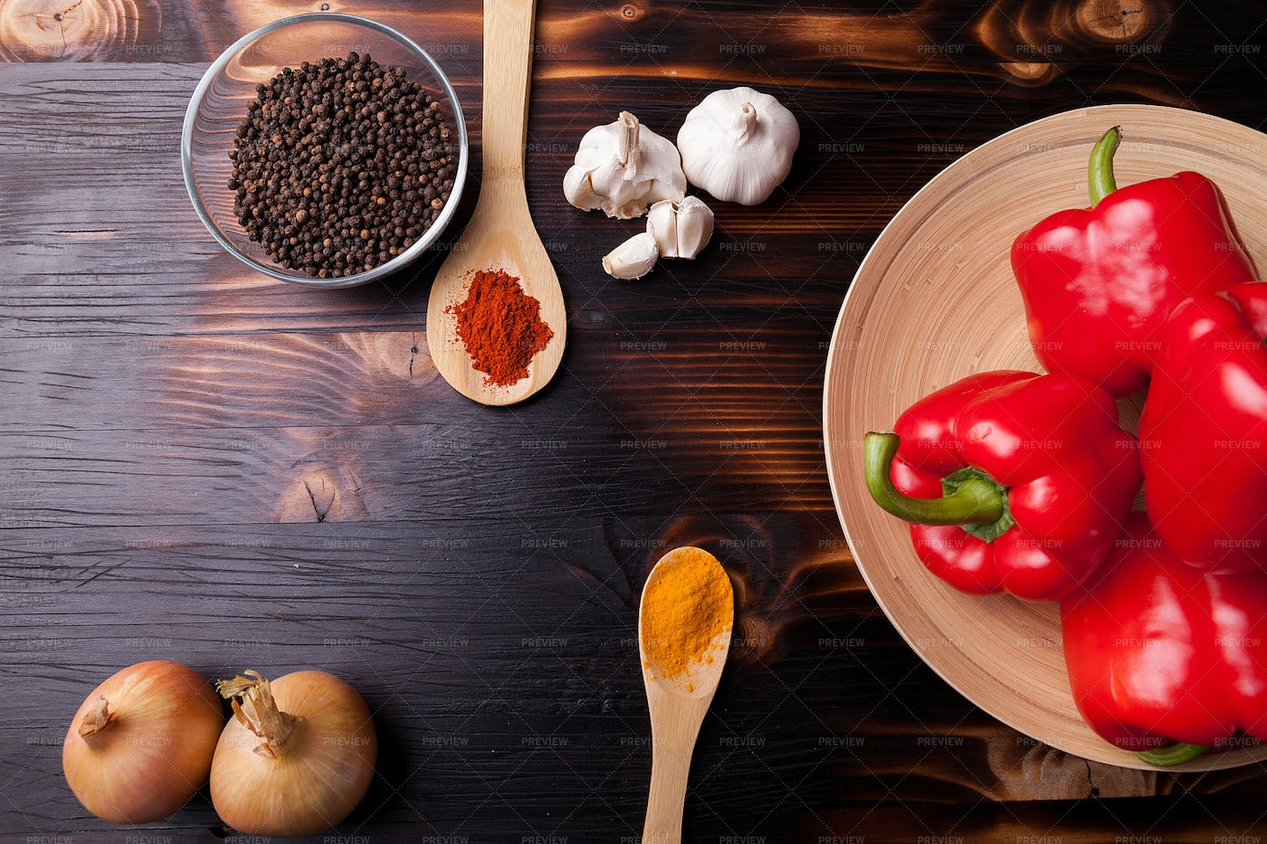 Spices And Seasonings: Stock Photos