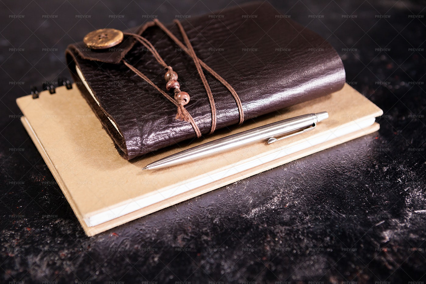 Notebook And Diary: Stock Photos