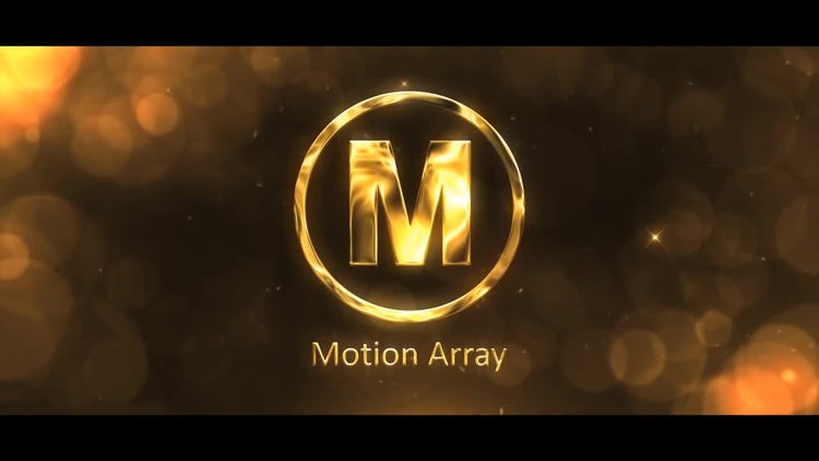 Golden Logo: After Effects Templates