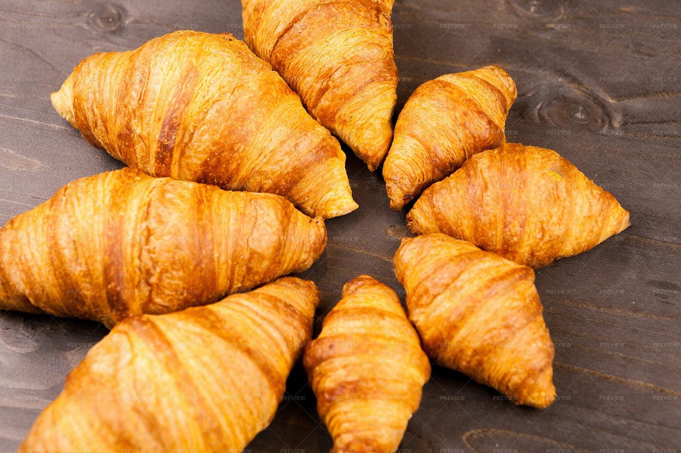Croissants: Stock Photos