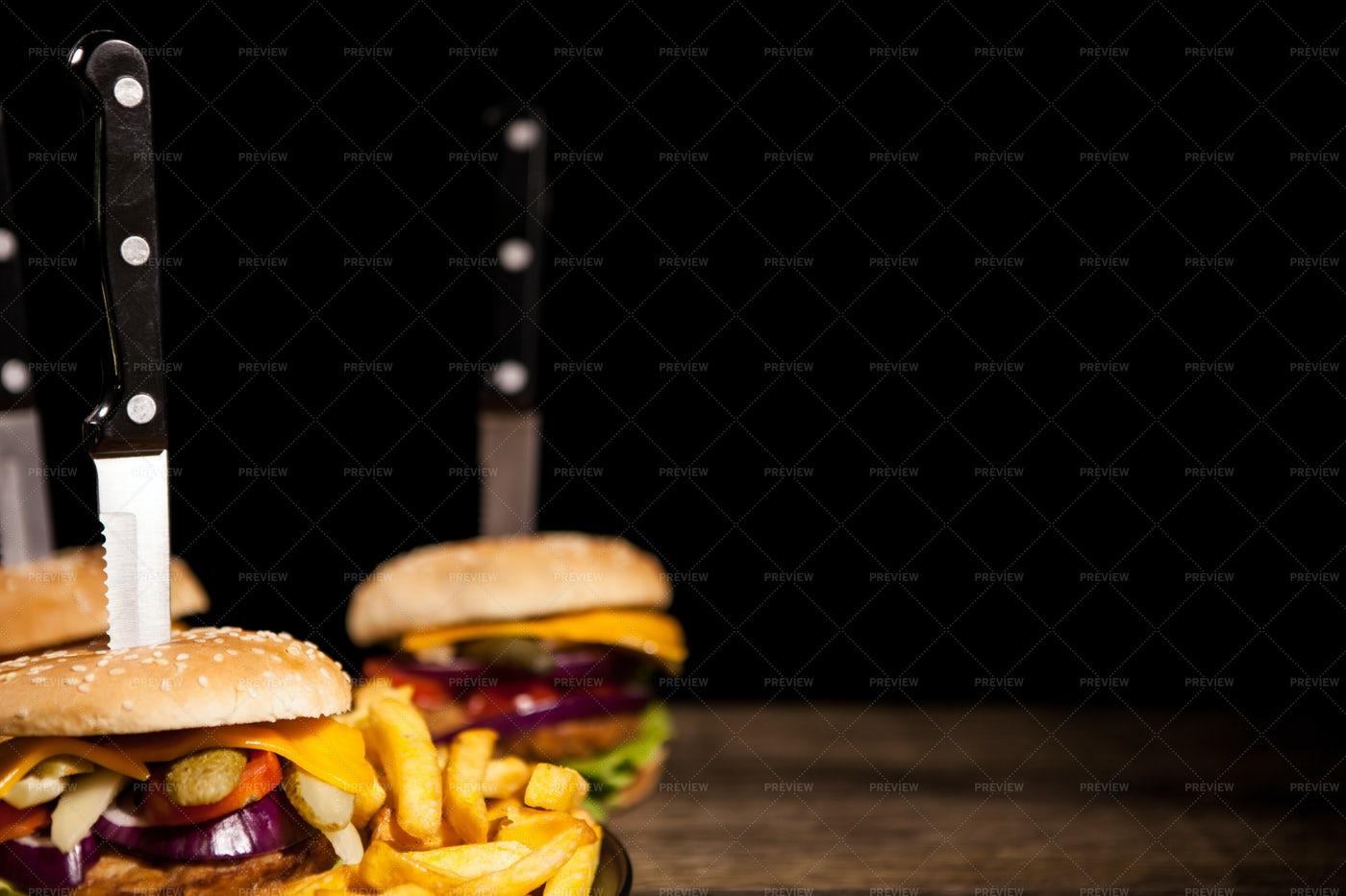 Tasty Hamburgers: Stock Photos