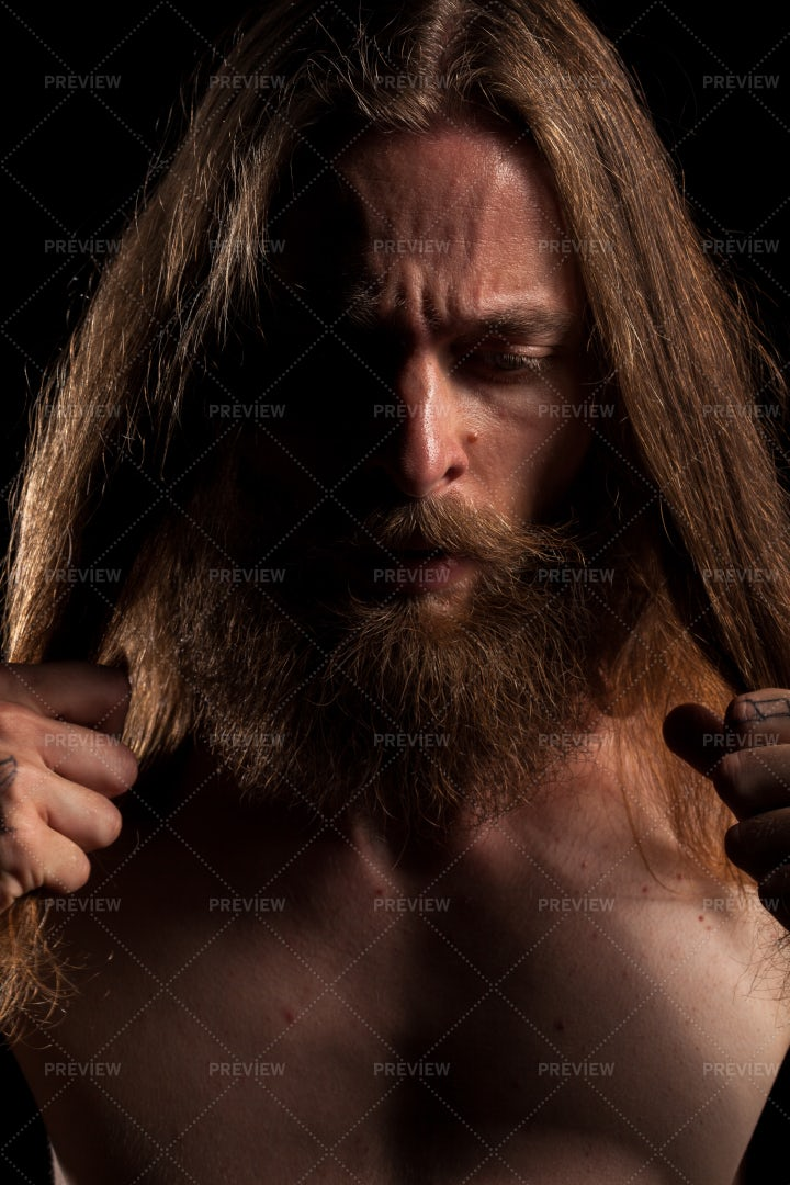 Cool Looking Hipster: Stock Photos