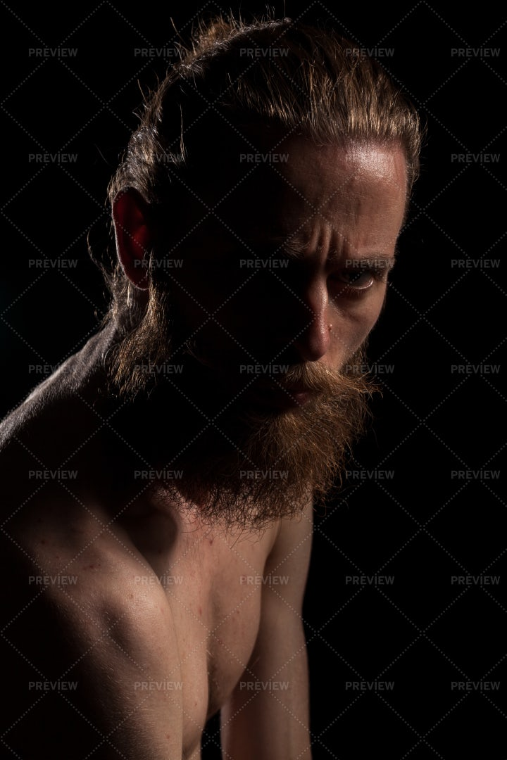 Shirtless Man: Stock Photos