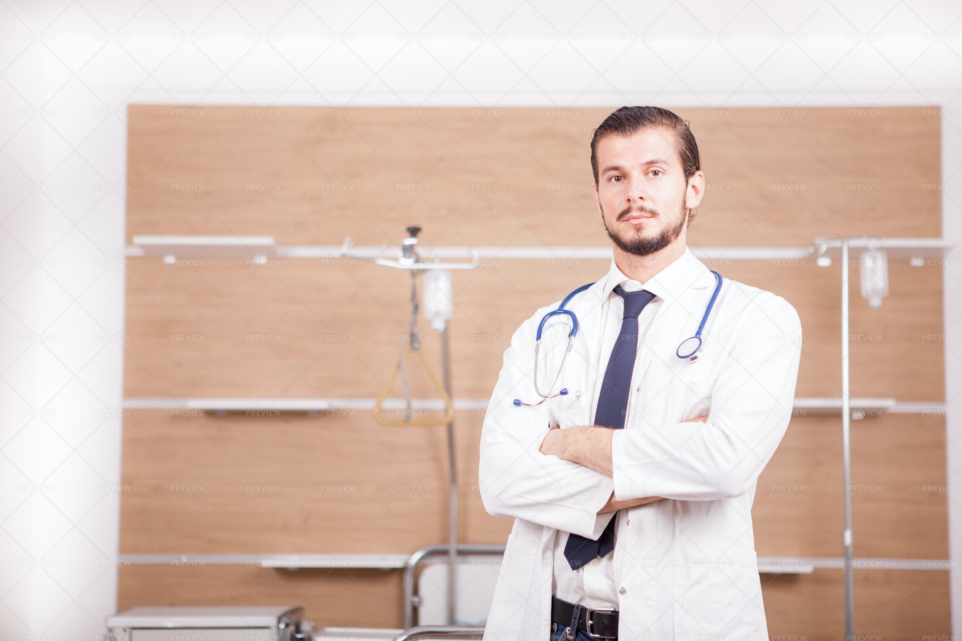 Doctor With Stethoscope: Stock Photos