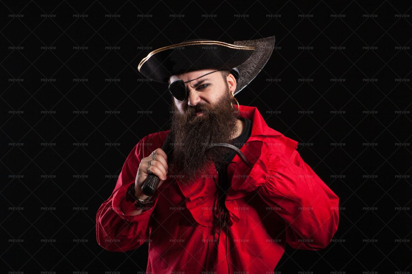 Pirate Costume: Stock Photos