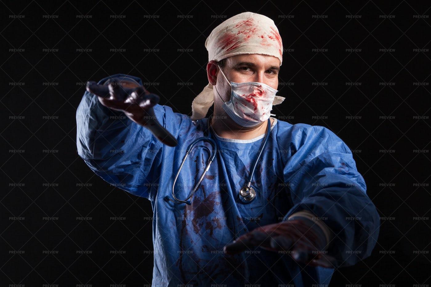 Zombie Doctor: Stock Photos